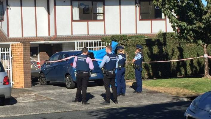 Police have welcomed a lecture in Fairholme Ave after a woman was found dead under a car.