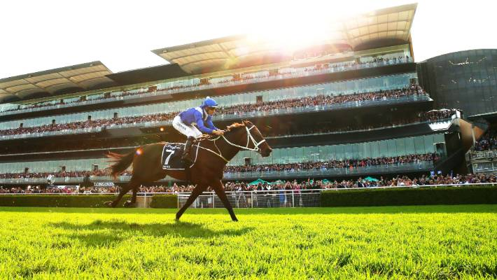 Champion Australia mare Winx wins final race for 33 on the trot