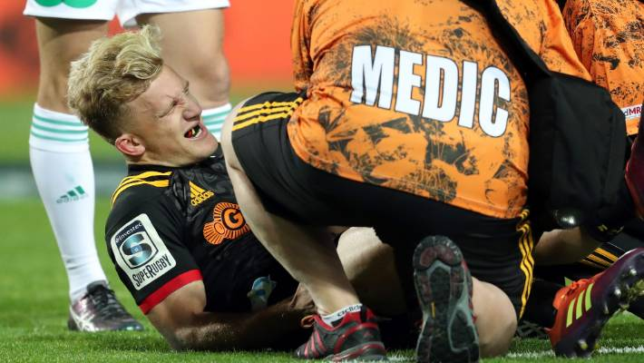 Image result for damian mckenzie injury