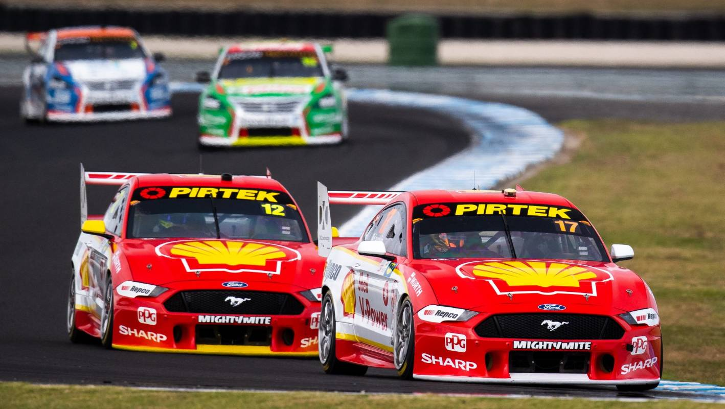 87e9c5a0c13 Scott McLaughlin fires up after Supercars orders more changes to Ford  Mustangs