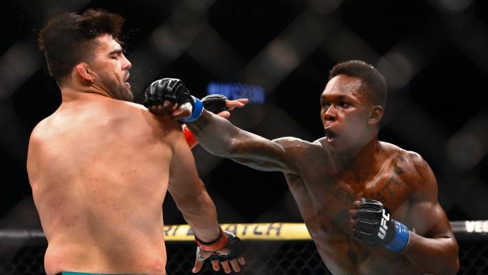 Israel Adesanya has shown respect for Kelvin Gastelum following their incredible fight at UFC 236.