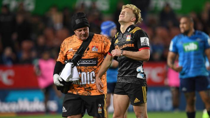 New Zealand's Damian McKenzie ruled out of World Cup with knee injury