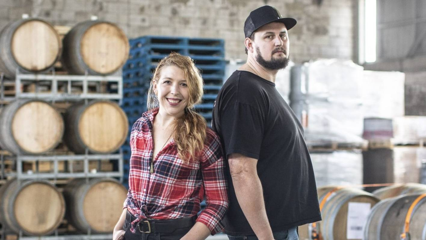 Husband and wife Andrew Childs and Hannah Miller are combining their brewery and butchery businesses together in Auckland's Kingsland.