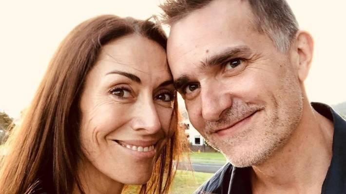 John and his Kiwi wife Kelly Swanson-Roe.