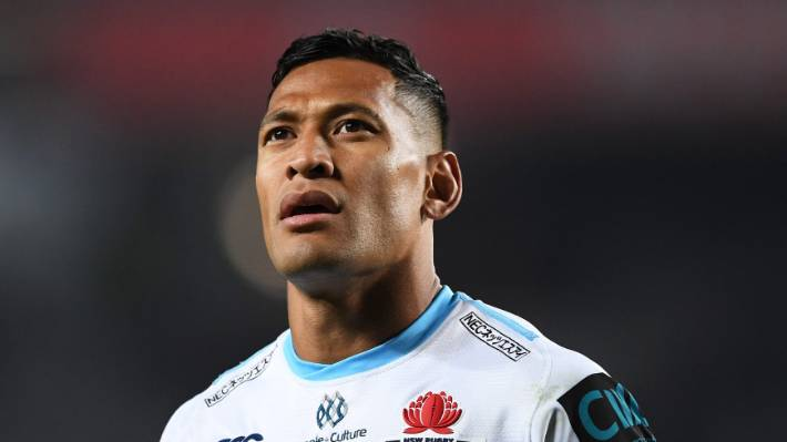 Israel Folau requests Rugby Australia hearing over anti-gay message