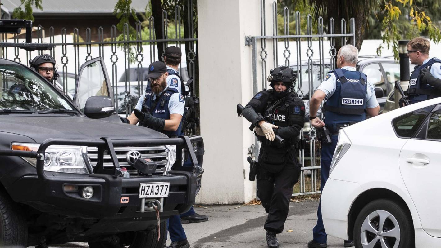 Shootings In Christchurch Photo: Police Didn't See Shootings Suspect Leave Christchurch