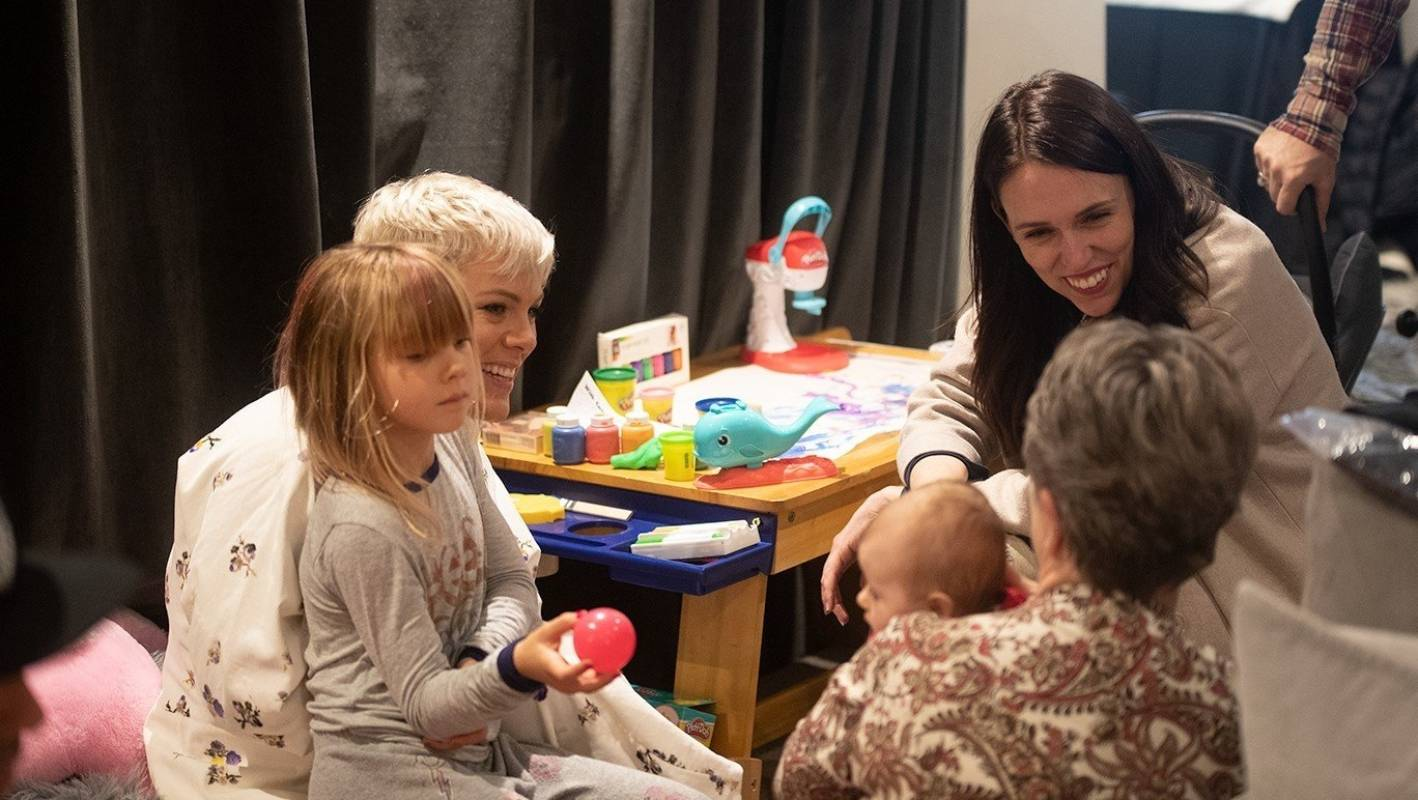 Jacinda Ardern And Pink Organised A Play Date Before Pop Stars Nz