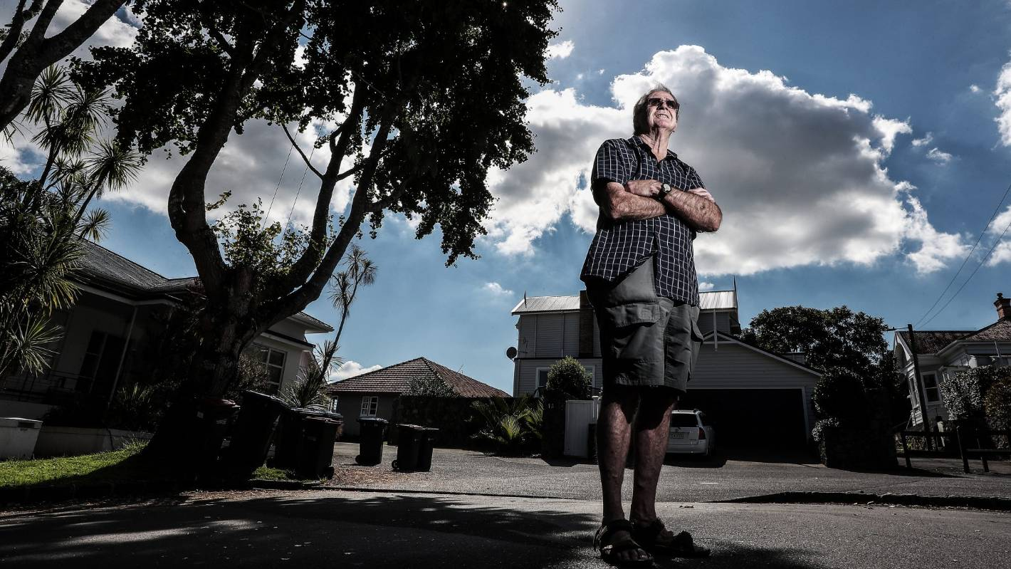 Residents kick up stink over 'vomit-inducing' Auckland tree