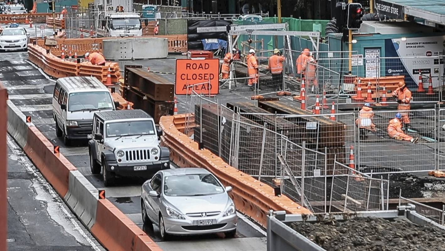 Auckland MP Nikki Kaye calls for traffic fix amid City Rail Link, waterfront works