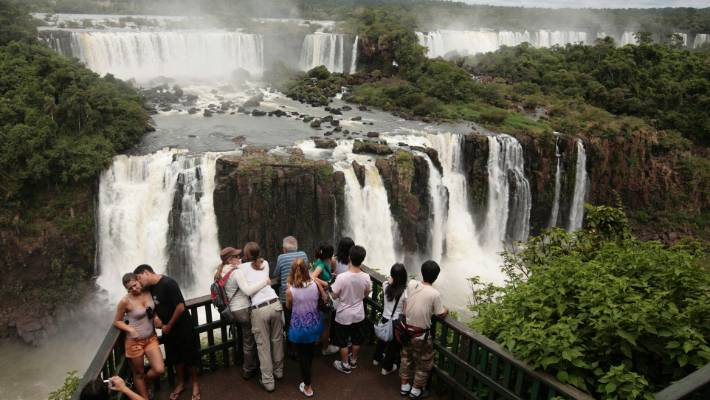 """When she first saw the Iguazu Falls, former United States First Lady Eleanor Roosevelt was so impressed she supposedly exclaimed, """"Poor Niagara!"""""""