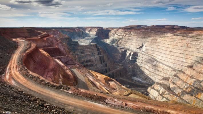 Super pit gold mine, Kalgoorlie, Western Australia.