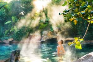 FFX-travel New Zealand's most romantic hot springs escape.  The Coromandel's Lost Spring