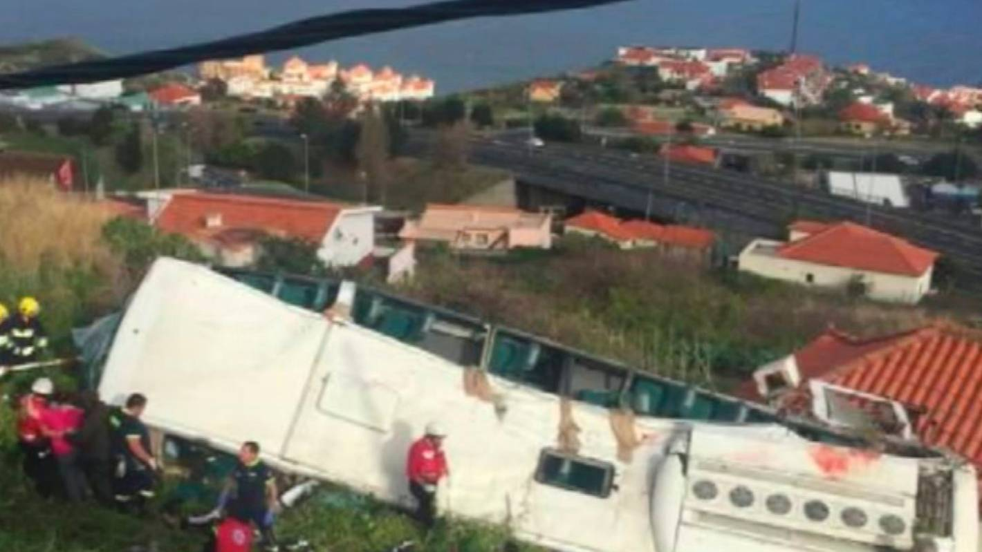 Deadly bus accident on Portuguese island