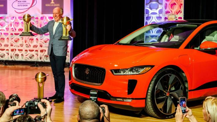 Jaguar I-Pace wins World Car of the Year