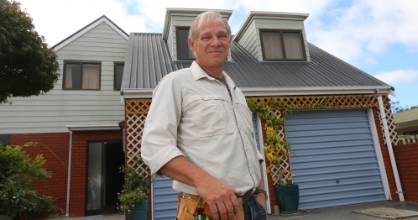 Blenheim man Roger Wadham was relieved when the capital gains tax was ruled out.