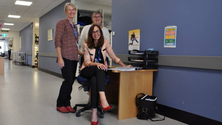 Strengthened palliative care service between hospital and