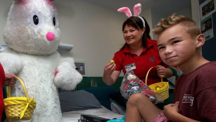 Local Easter egg hunt provides fun for kids