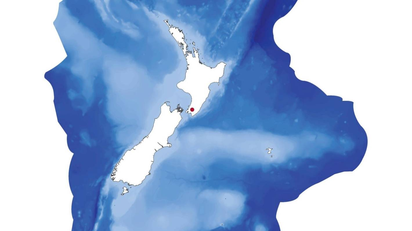 New Zealand's geographical centre shifts east and hops islands