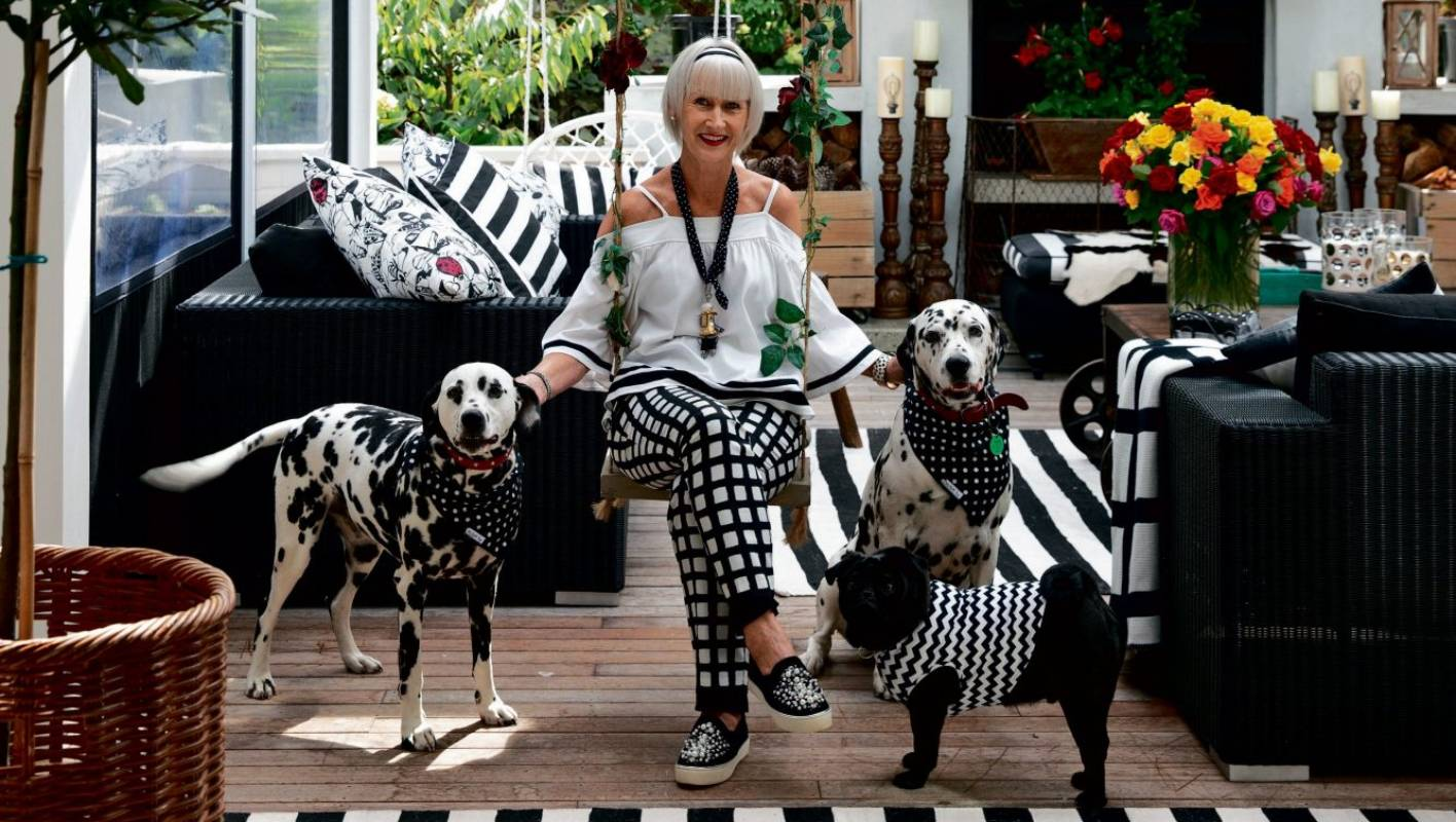 Spot On These Black And White Pups Are A Perfect Match