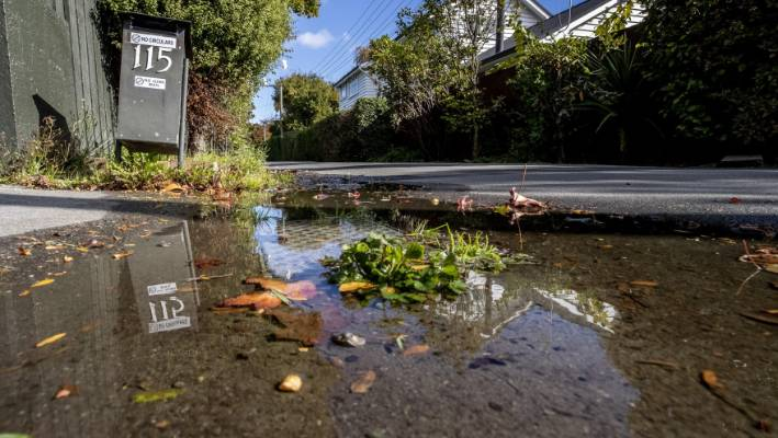 Leaky pipes lose 70 swimming pools worth of Christchurch water a week