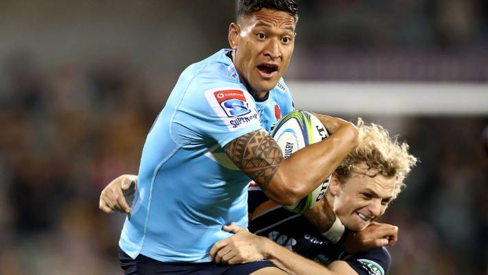 League legend 'wouldn't have a problem' with Israel Folau's NRL return