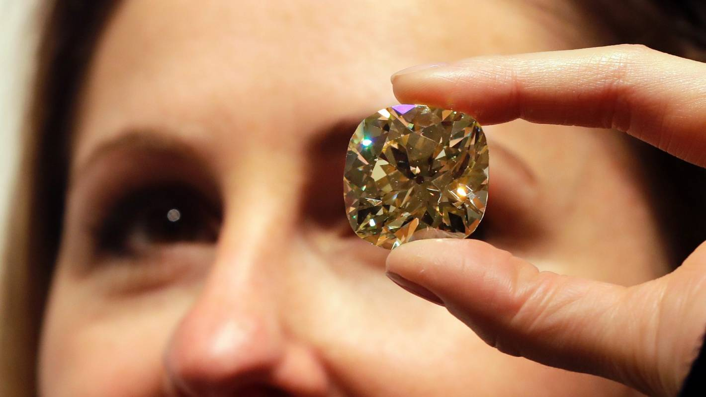 A huge trove of diamonds is discovered deep within the Earth