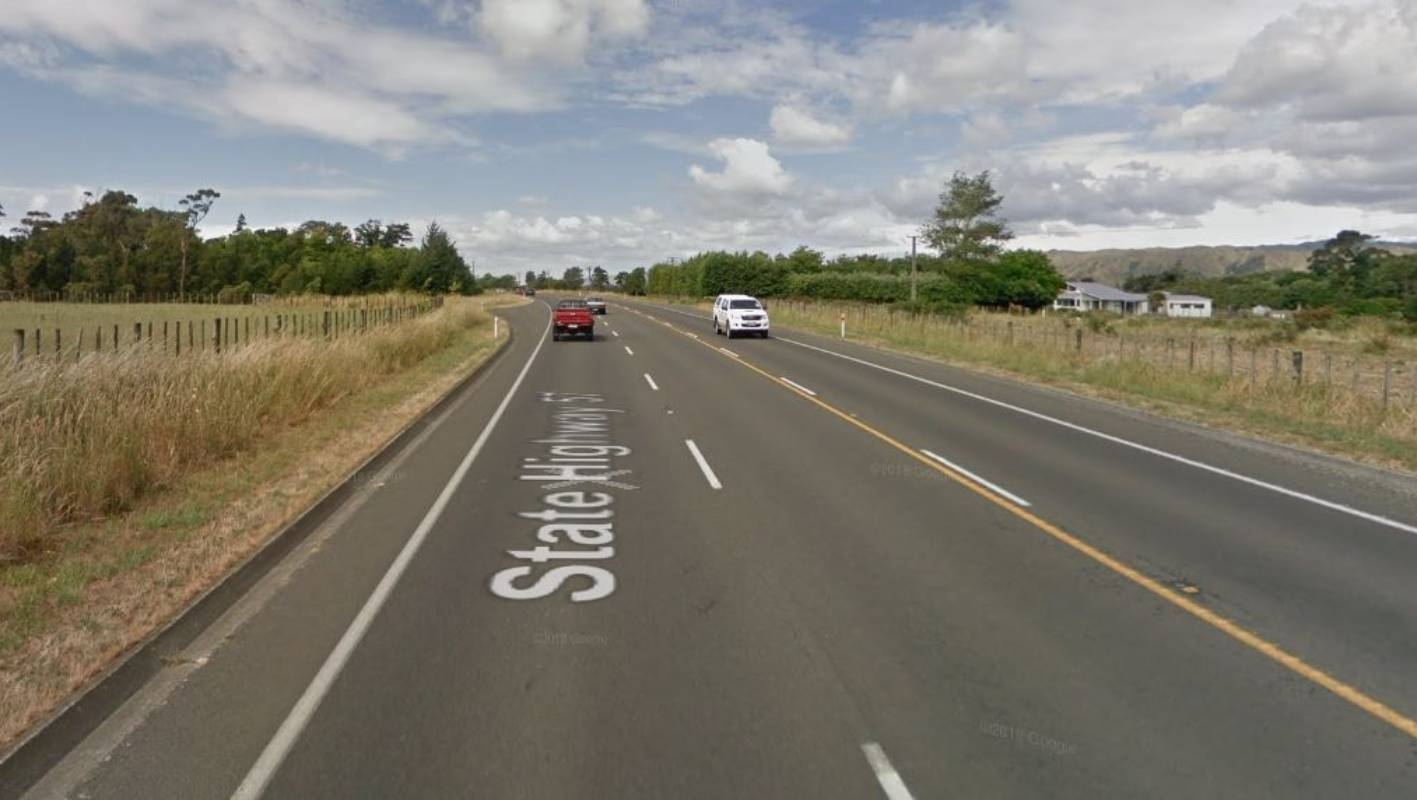 Two people injured in crash on busy Horowhenua highway