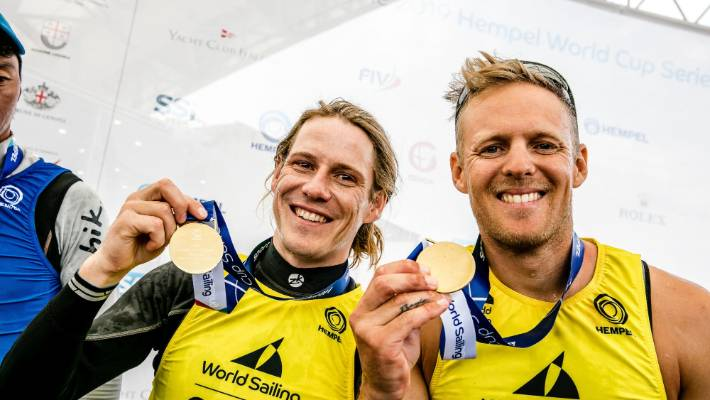 Gold medal for Kiwis in World Cup series regatta in Italy