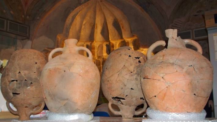Archeologists have dug up more than 300,000 artefacts, from coins and jewellery to marble statues, amphorae, oil lamps and perfume vases.