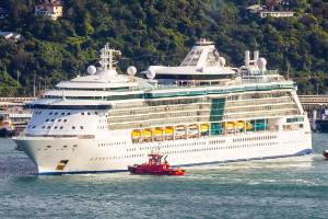 Radiance of the Seas was both the first and last ship to visit Wellington this season. (File photo)