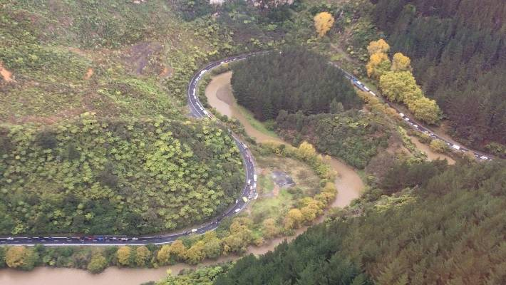Person dead following crash at Awakino tunnel   Stuff co nz