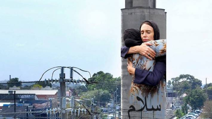 Mural of Jacinda Ardern to be painted on to Melbourne skyline