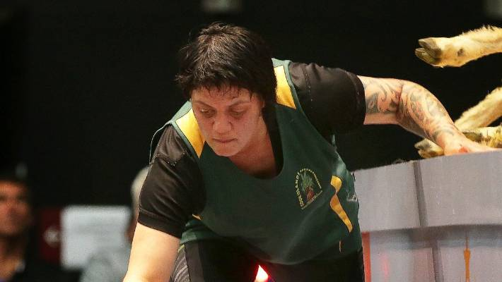 Cook Islands represented by Mataura shearers in France championships