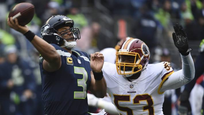 Russell Wilson Gifts O-Line $12K In Amazon Stock