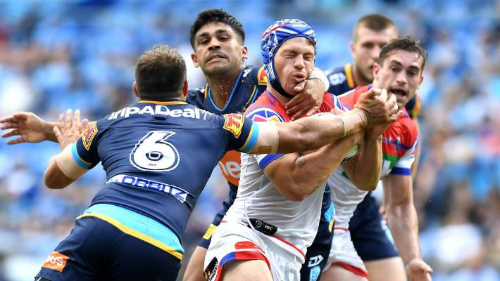 Kalyn Ponga protected from NRL hype by Newcastle Knights coach