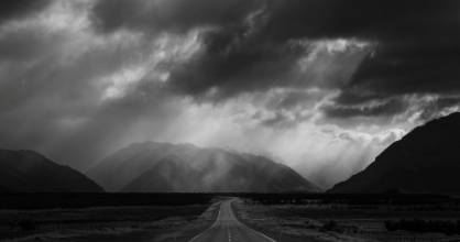 Highway Storm won gold for Best Landscape Projected Image and the Eric Young Memorial Trophy.
