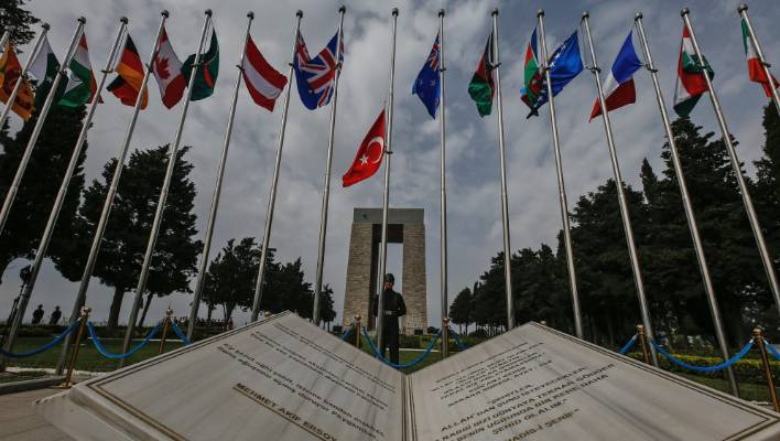 Jordan- Australian embassy commemorates ANZAC Day