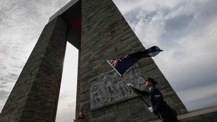 Terror arrest clouds Anzac Day services