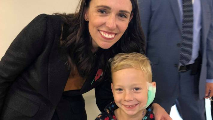 Prince William Jacinda Arderns Surprise Hospital Visit Best