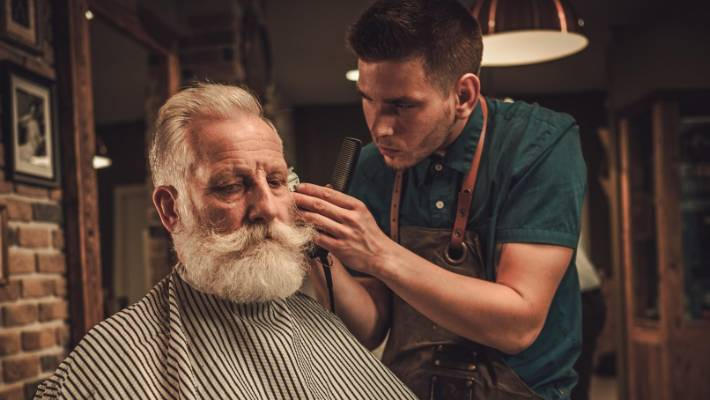 For men, going to the barber has become an event, but there's a lot to be said for the do-it-yourself approach.