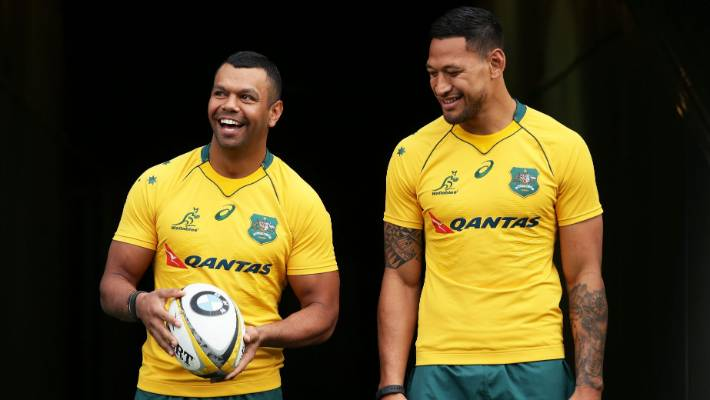 Cheika gives evidence at Folau code of conduct hearing