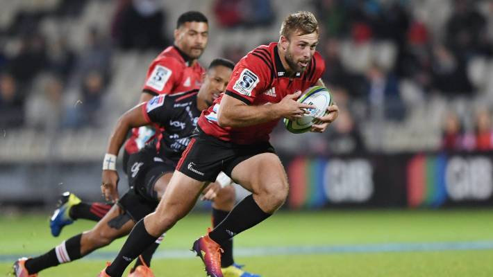 Crusaders tame Lions in Super Rugby