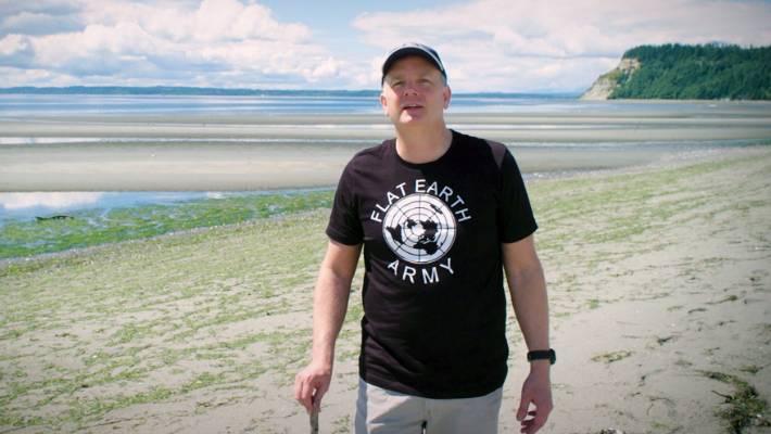Mark Sargent spoke at Flat Earth Expo Aotearoa. (file)