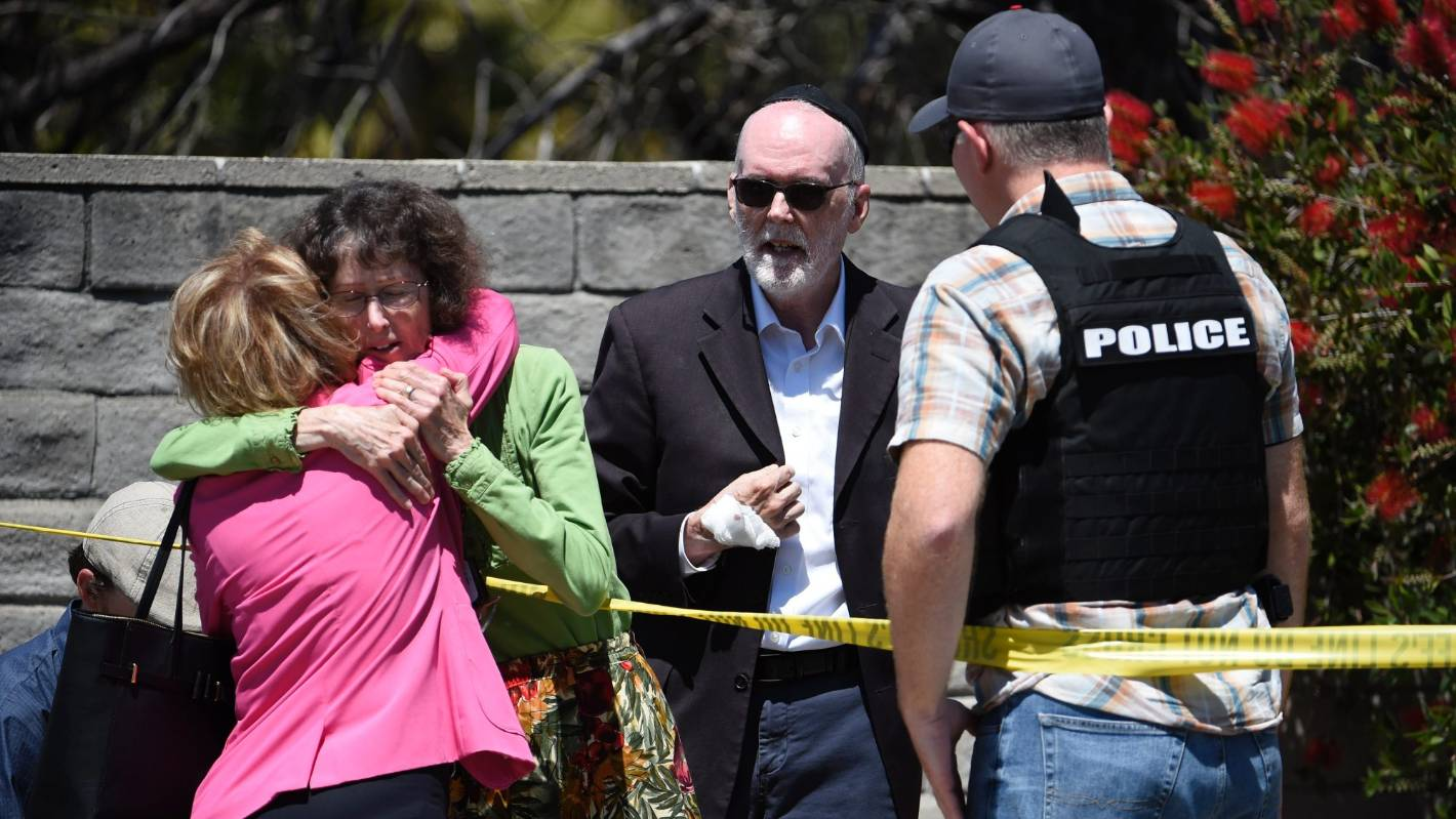 Us Synagogue Shooting Reportedly Linked To Christchurch -3277