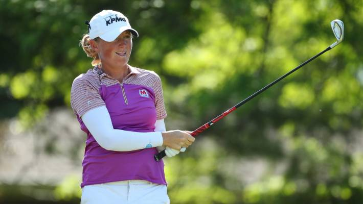 Aussie Green, American Lewis share lead at LA Open