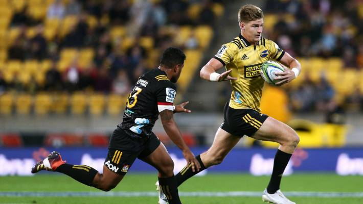 Hurricane defender Jordie Barrett burned the bosses with two attempts in the space of a few minutes last weekend.