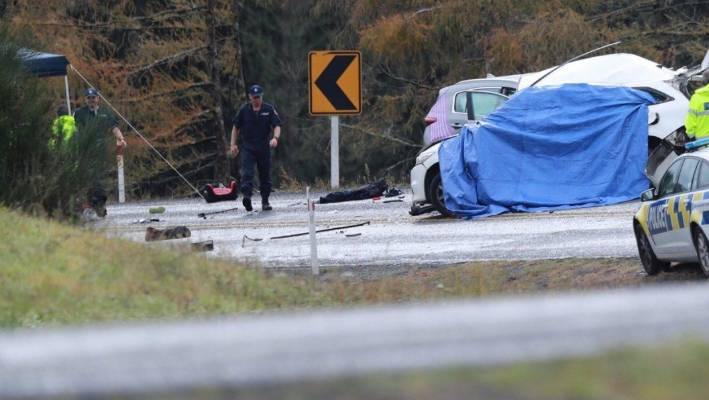 f3bd4f40e9 Eight people were killed in the crash on State Highway 1 near the  intersection of Ohakuri