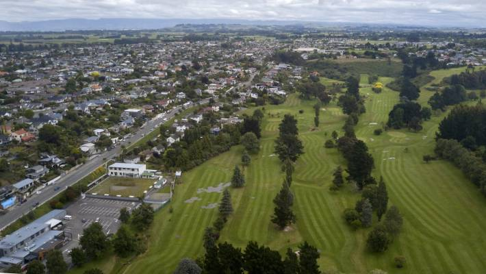 A proposal to reduce Highfield golf course from 18 holes to nine holes is on the table. (File)