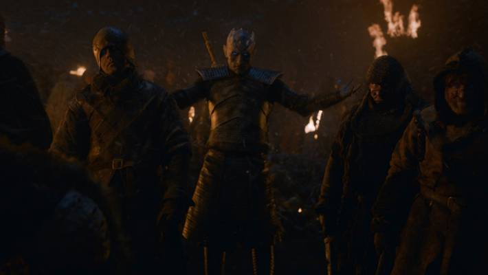 The Night King seemed invincible for most of this episode.