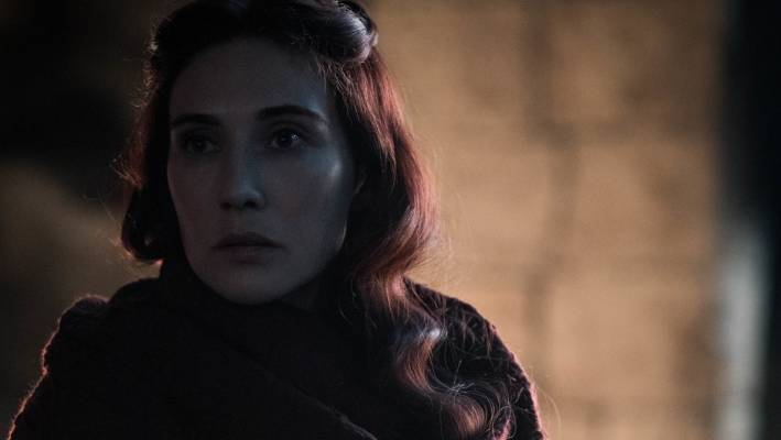 Melisandre returned to the Game of Throne when we needed her most.